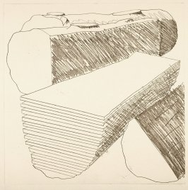 Working Proof 1 for Untitled (Cut Logs) (Unpublished)