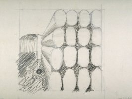 Drawing for Untitled (Logs) (Unpublished)