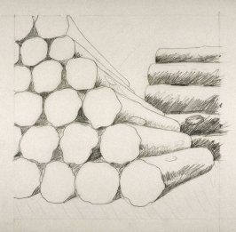 Drawing 2 for Untitled (logs) (Unpublished)