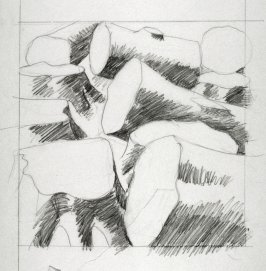 Drawing 3 for Untitled (logs) (Unpublished)