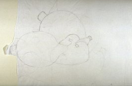 Drawing 4 for Fruit Juice Bottles II, State 1