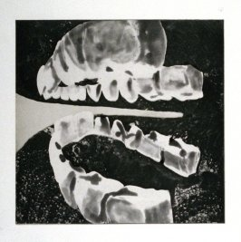 Working proof 1 for Untitled (Medium Teeth) (Unpublished)