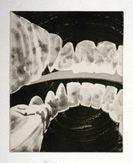 Working proof 2 for unpublished, Untitled (Large Teeth)