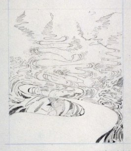 Drawing for Meandering River I