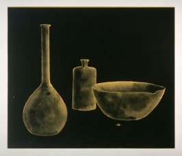 Working Proof 4 for Laboratory Still Life No. 1, State 1