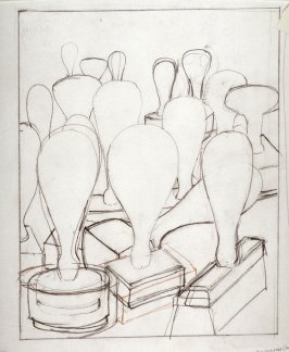 Drawing for Untitled (Suburbs C), unpublished