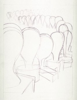 Drawing for Untitled (Suburbs D), unpublished
