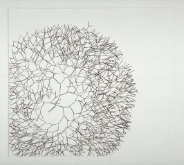 Working proof for Untitled (Large Branching Line) (unpublished)