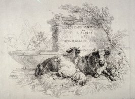 Titlepage from - Landscape Animals in a Series of Perspective Studies