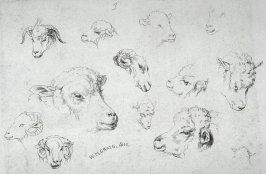 Plate 3 from - Landscape Animals in a Series of Perspective Studies