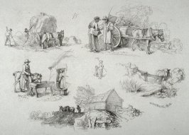 Plate 15 from - Landscape Animals in a Series of Perspective Studies