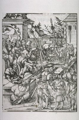 The Martyrdom of St. Bartholomew, from The Martyrdom of the Twelve Apostles