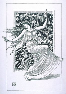 Danseuse aux Cymbales published in L'Estampe originale, Album IX (1895)