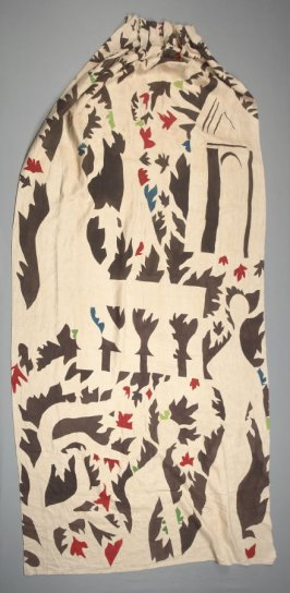 Curtain panel (one of three, see X1989.846.2, X2007.1)