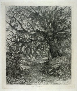 Road Scene, Trowse Hall (near Norwich)