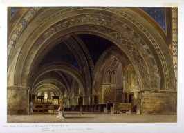 The Interior of St. Francis at Assisi