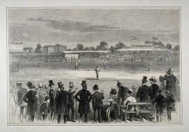 Baseball in England - p.733 Harper's Weekly (5 September 1874)