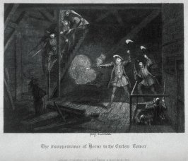 The disappearance of Herne in the Curfew Tower