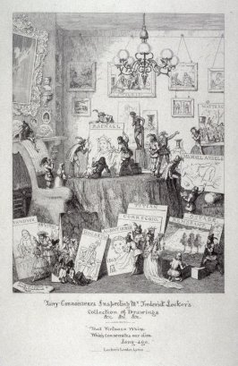 Fairy Connoisseurs Inspecting Mr Frederick Locker's Collection of Drawings