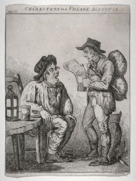 Characters in a Village Alehouse