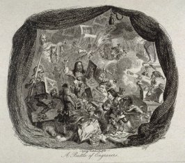 A Battle of Engravers, Illustration to Thomas Wilson's 'A Catalogue Raisonné of the Select Collection of Engravers of an Amateur' (1828)
