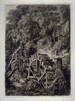 One from: Wanderings and Pencillings amongst Ruins of the Olden Times: A Series of Seventy-three Etchings by George Cuitt, Esq. London, 1855