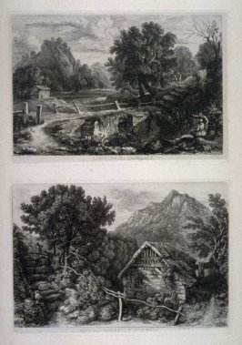 Two from: Wanderings and Pencillings amongst Ruins of the Olden Times: A Series of Seventy-three Etchings by George Cuitt, Esq. (London, 1855)