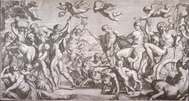Bacchus and Ariadne, after Annibale Carracci