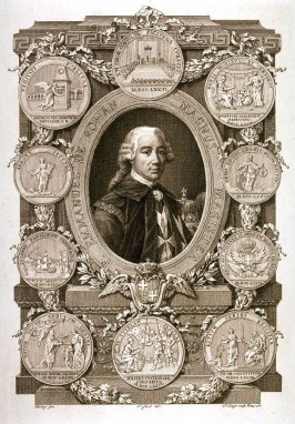 "Portrait of F. Emmanuel de Rohan, ""Magnus Magister"", after Fàvray"