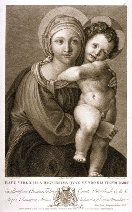 Madonna and Child, after Correggio