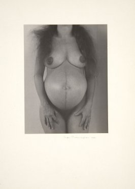 Untitled Pregnant Nude No. 3 (Merry Renk)