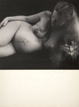 Untitled Pregnant Nude No. 5 (Merry Renk)