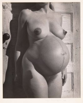 Untitled Pregnant Nude (Merry Renk)