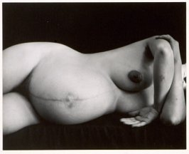 Untitled Pregnant Nude No. 7 (Merry Renk)