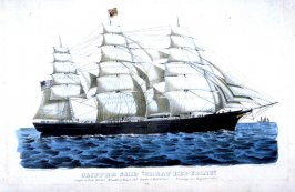 "Clipper Ship ""Great Republic""."