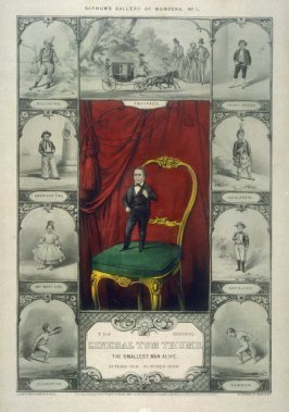 Barnum's Gallery of Wonders No. 1/The Original General Tom Thumb