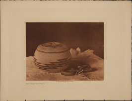 Hupa Basket and Purses (The North American Indian)