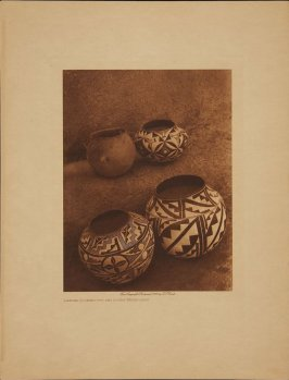 Laguna Cooking Pot and Acoma Water Jars (The North American Indian)