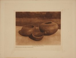 Steatite Vessels from Santa Catalina Island (The North American Indian)