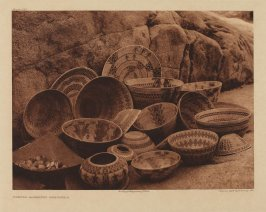 Plate 502, Yokuts Basketry Designs (a) (The North American Indian)