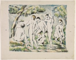 Baigneurs (The Small Bathers), 1896-1897, from L'album d'estampes originales de la Galerie Vollard, 1897
