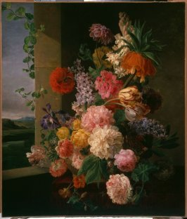 Flowers before a Window