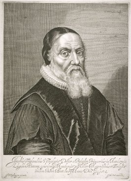 Portrait of Jacob Trigland, S. Theologian, doctor and professor in the Academy at Lugduno-Batava
