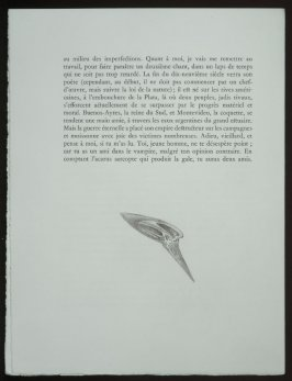Untitled, tailpiece pg. 36, in the book Les Chants de maldoror by Comte de Lautréamont (Paris: Albert Skira, 1934).