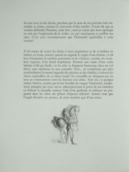 Untitled, tailpiece pg. 86, in the book Les Chants de maldoror by Comte de Lautréamont (Paris: Albert Skira, 1934).