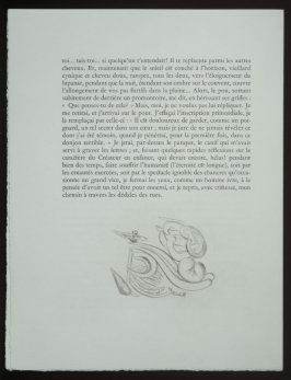 Untitled, tailpiece pg. 112, in the book Les Chants de maldoror by Comte de Lautréamont (Paris: Albert Skira, 1934).