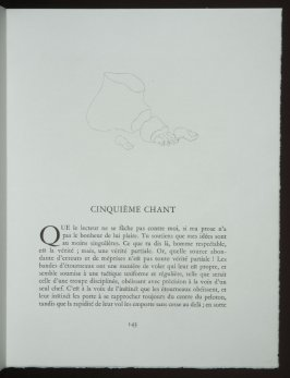 Untitled, headpiece pg. 143, in the book Les Chants de maldoror by Comte de Lautréamont (Paris: Albert Skira, 1934).