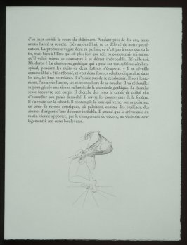 Untitled, tailpiece pg.173, in the book Les Chants de maldoror by Comte de Lautréamont (Paris: Albert Skira, 1934).
