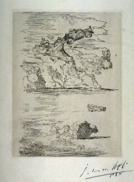 Untitled (Automobile in the sky)