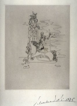 Untitled (Figure and horse)